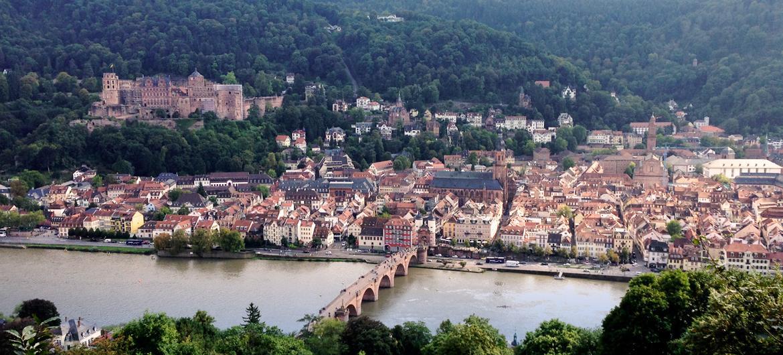 Heidelberg Altstadt Panorama